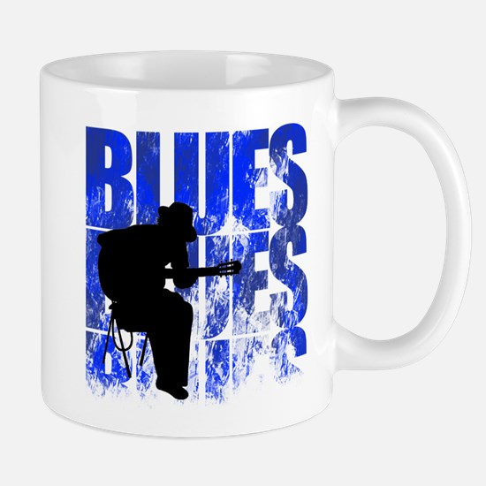 blues guitar Mug