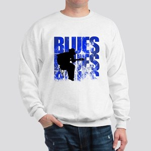 blues guitar Sweatshirt