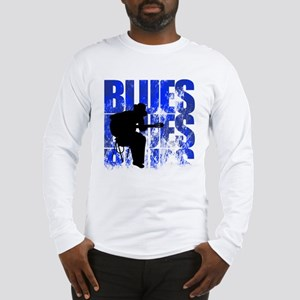 blues guitar Long Sleeve T-Shirt