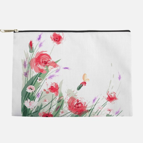 Flowers Painting Makeup Pouch