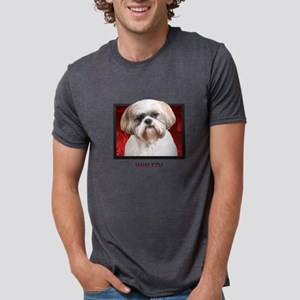 2-redblock Mens Tri-blend T-Shirt