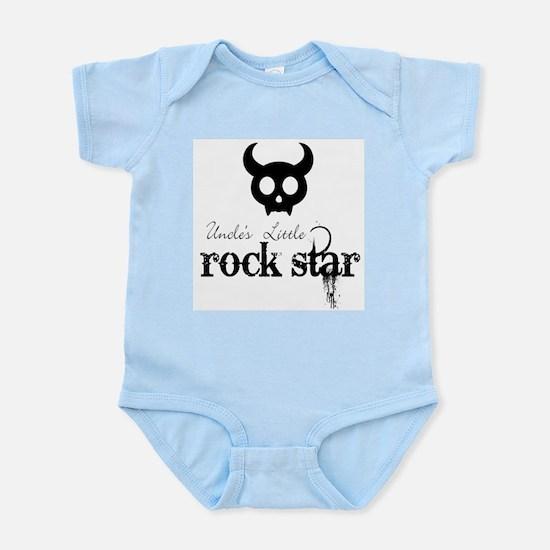 Uncle's Little Rock Star Baby Body Suit