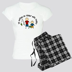 Rather Be Fishing Women's Light Pajamas