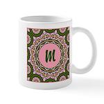 Vidalia Rose Monogram Mug