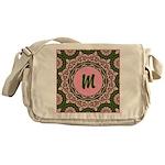 Vidalia Rose Monogram Messenger Bag
