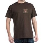 Vidalia Rose Monogram Dark T-Shirt