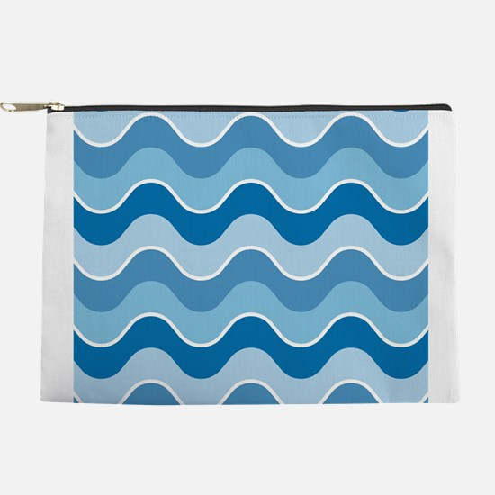 Saddle Waves Makeup Pouch