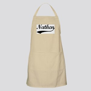 Vintage: Nathen BBQ Apron