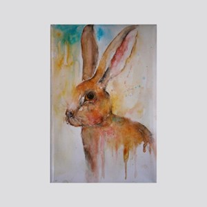 Solo Hare ~ Fridge Magnet