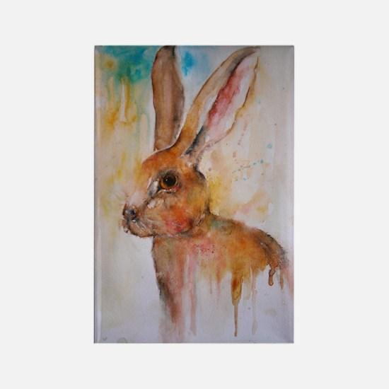 Solo Hare ~ Fridge Magnet
