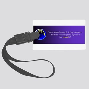 ReloadMyPC banner Large Luggage Tag