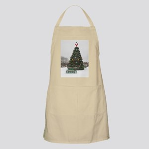 Lobster Trap & Bowie Christmas Tree Apron