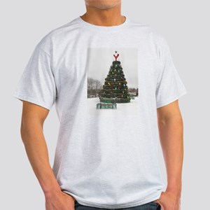 Lobster Trap & Bowie Christmas Tree Light T-Shirt