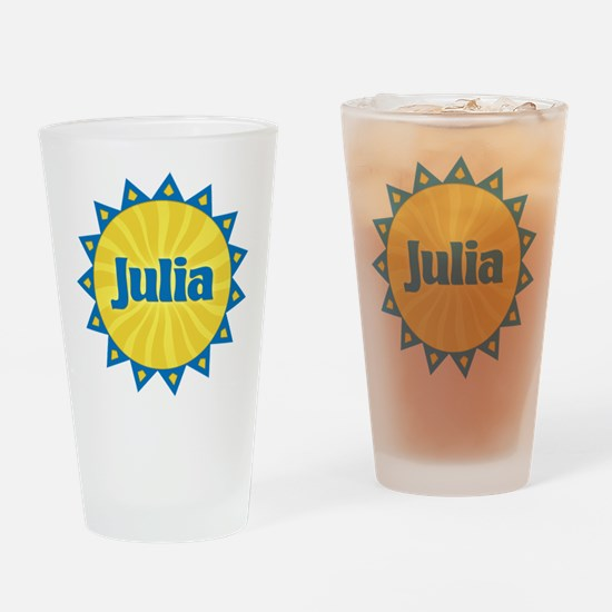 Julia Sunburst Drinking Glass