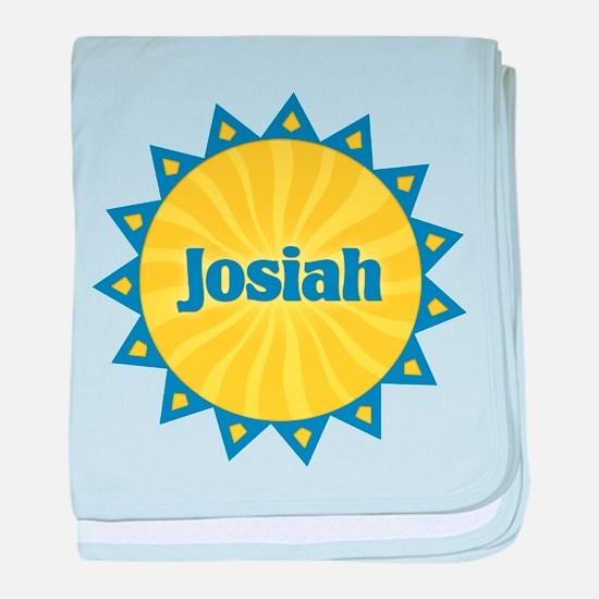 Josiah Sunburst baby blanket
