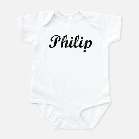Vintage: Philip Infant Bodysuit