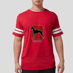 21-redsilhouette Mens Football Shirt