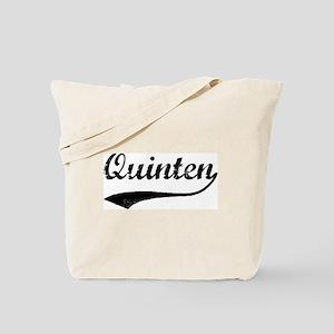 Vintage: Quinten Tote Bag