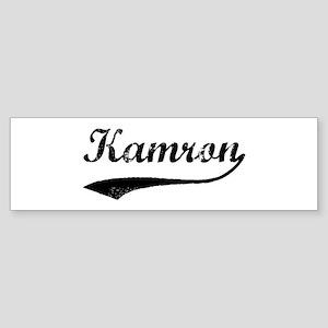 Vintage: Kamron Bumper Sticker