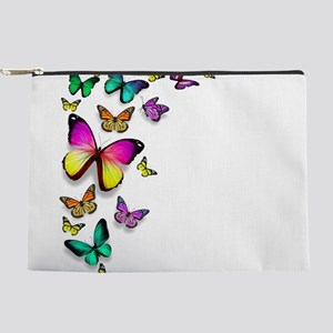 Colorful Butterfly Makeup Pouch