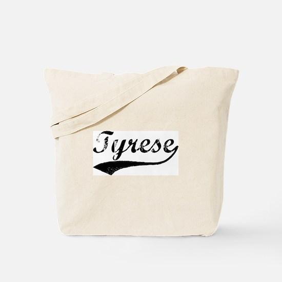 Vintage: Tyrese Tote Bag