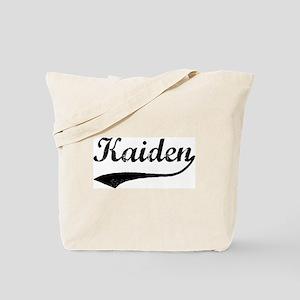 Vintage: Kaiden Tote Bag