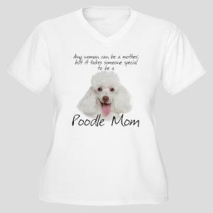 Poodle Mom Women's Plus Size V-Neck T-Shirt