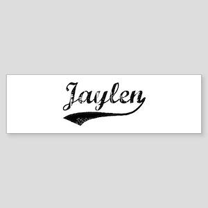 Vintage: Jaylen Bumper Sticker