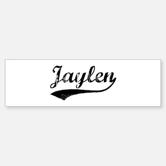 Vintage: Jaylen Bumper Bumper Bumper Sticker