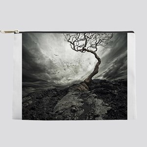Dark Tree Makeup Pouch