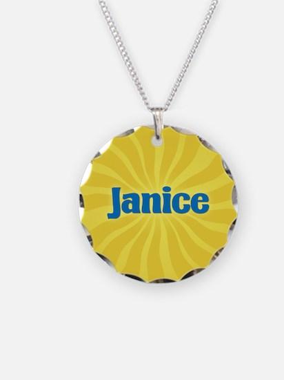 Janice Sunburst Necklace