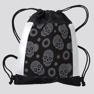 Sugar Skulls Drawstring Bag