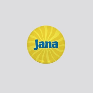 Jana Sunburst Mini Button