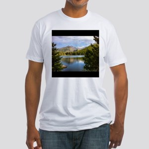 Bear Lake, Rocky Mountain National Park Fitted T-S
