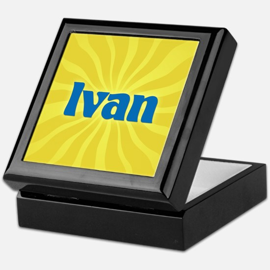 Ivan Sunburst Keepsake Box