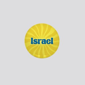 Israel Sunburst Mini Button