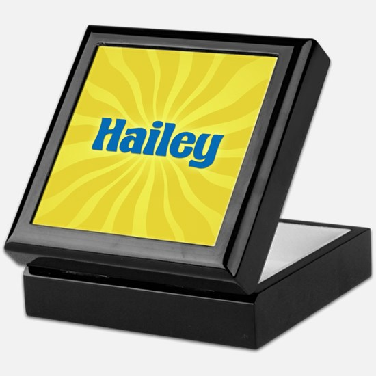 Hailey Sunburst Keepsake Box
