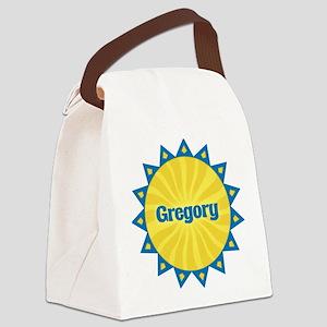 Gregory Sunburst Canvas Lunch Bag