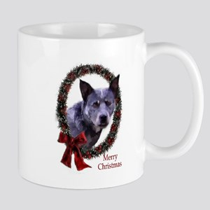 Australian Cattle Dog Christmas 11 oz Ceramic Mug