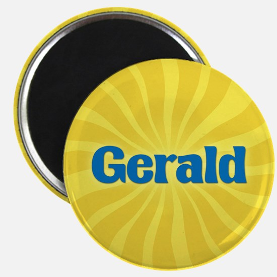 Gerald Sunburst Magnet