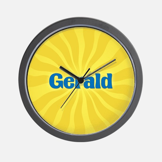 Gerald Sunburst Wall Clock