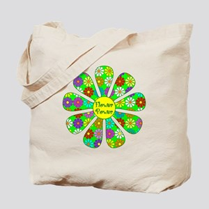 Cool Flower Power Tote Bag
