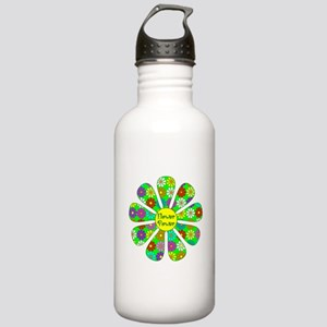Cool Flower Power Stainless Water Bottle 1.0L