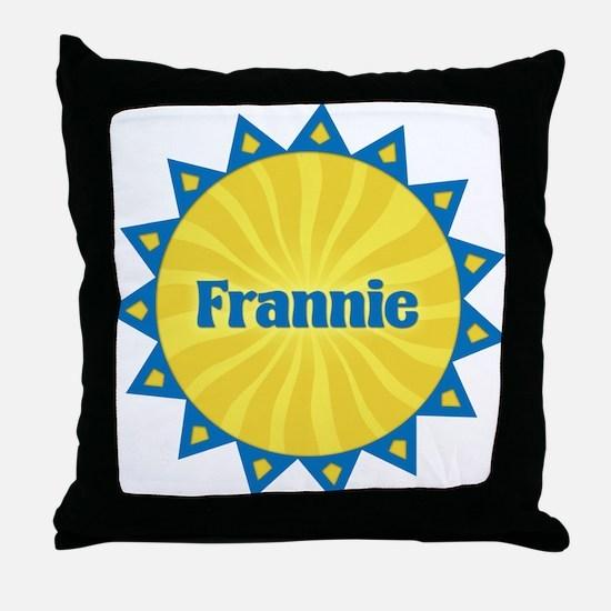 Frannie Sunburst Throw Pillow