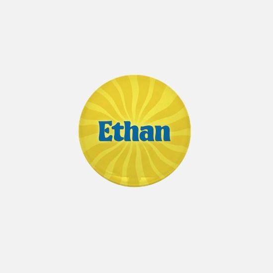 Ethan Sunburst Mini Button
