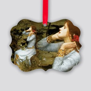 Waterhouse Ophelia Picture Ornament