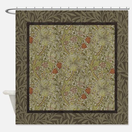 Unique Morris Shower Curtain