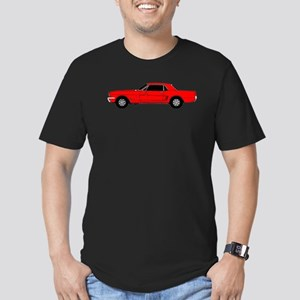Ford Mustang Men's Fitted T-Shirt (dark)