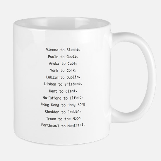 Rhyming journeys Mug