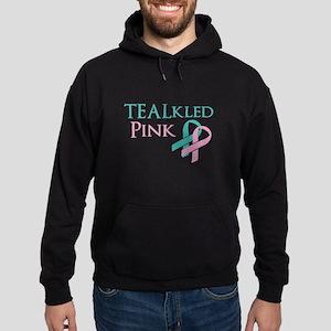 TEALkled Pink Hoodie (dark)